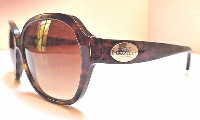 fbd7bb803ad7 Coach Sunglasses Hc8016 5033/13 L008 Ciara Dark Tortoise W/ Brown Gradient  Lens for sale online | eBay