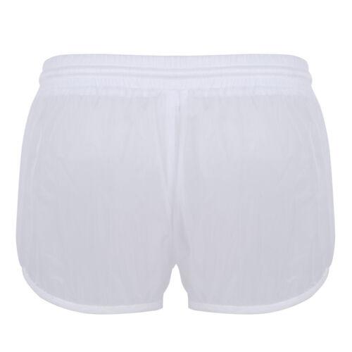 Men/'s See Through Surf Board Shorts Summer Beach Shorts Swimming Trunks Swimsuit