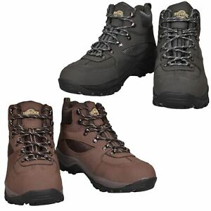 a300599b955 Details about NORTHWEST Mens Women Waterproof Hiking Ankle Boots Leather  Trail Walking UK Size