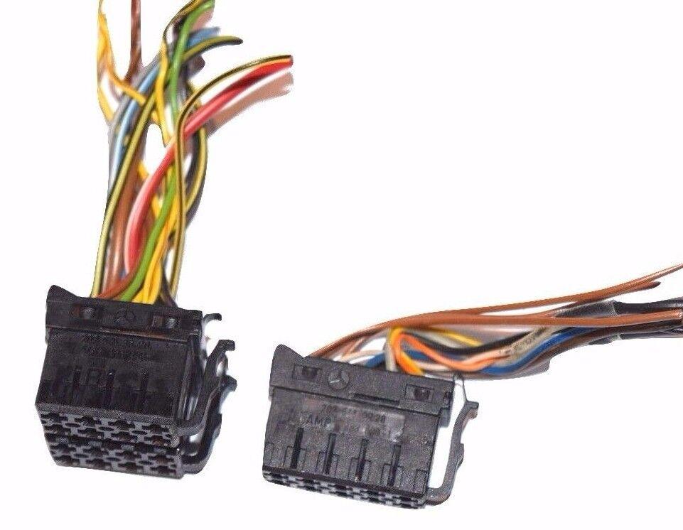 Amazing Mercedes Benz Radio Stereo Cassette Wires Harness Plugs Connectors Wiring Cloud Mangdienstapotheekhoekschewaardnl