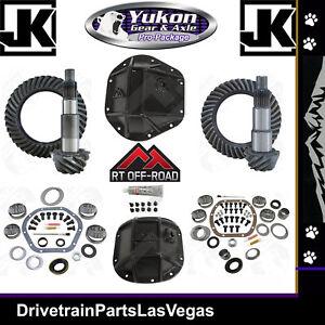 Jeep Wrangler JK Dana 44 30 Re-Gear Ring Pinion Yukon Gear RT Covers