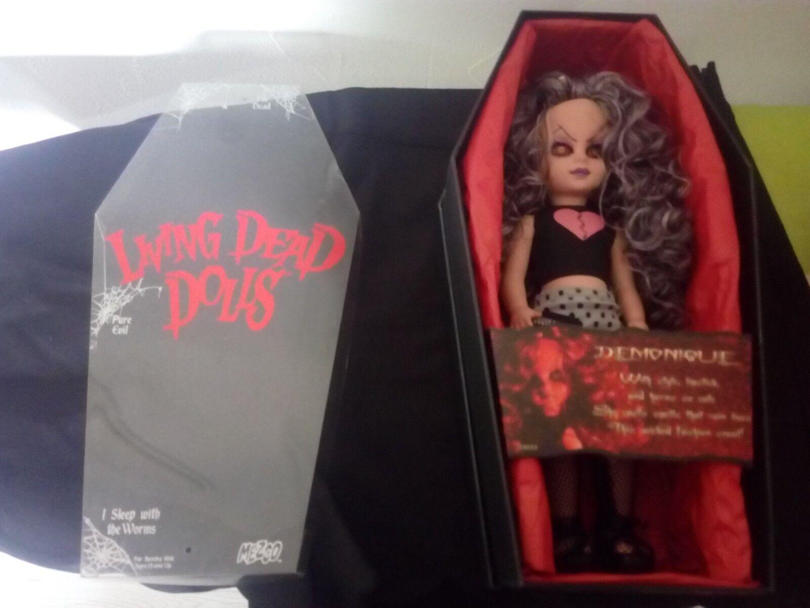 acquistare ora LIVING DEAD bambolaS SERIE 10 DEMONIQUE COMPLET COMPLET COMPLET  autorizzazione ufficiale