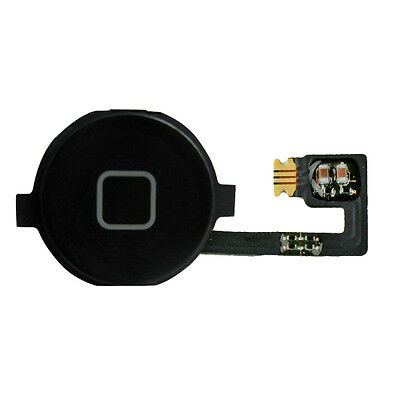 iPhone 4 Homebutton Home Button Flex Kabel - schwarz
