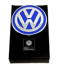 Volkswagen Belt Buckle - VW Badge Design - Blue - Authentic Officially Licensed