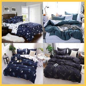 Duvet-Quilt-Doona-Cover-Bedding-Set-Single-Double-Queen-Size-Bed-Kids-Star-Space
