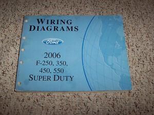 2006 Ford F-250 Electrical Wiring Diagram Manual 6.0L ...