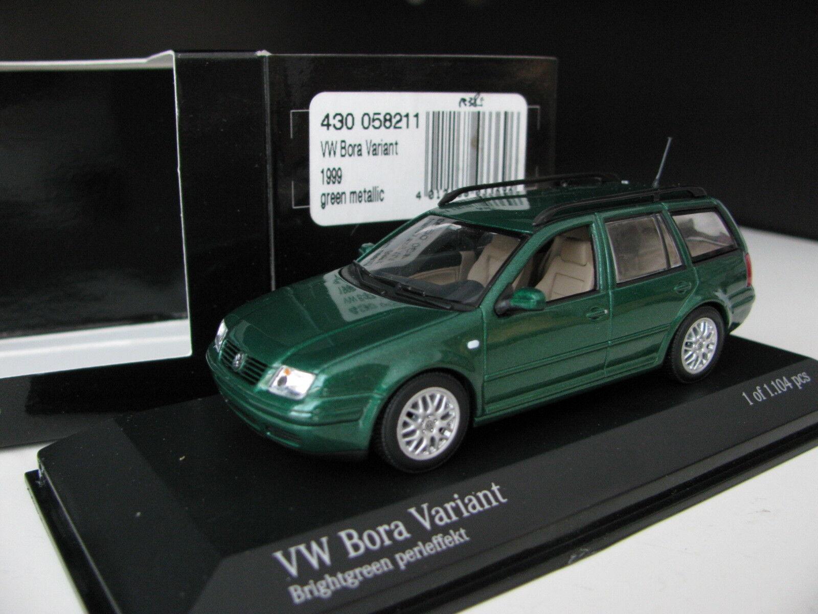 1   43 minichamps vw bora variant druckguss volkswagen