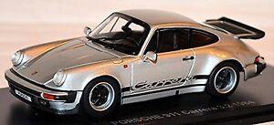 PORSCHE-911-CARRERA-3-2-TIPO-930-Modelo-G-Coupe-1984-plata-plata-metalico-1-43