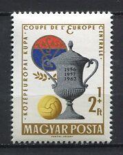 31871) HUNGARY 1962 MNH** European Soccer Ch. VASAS 1v.