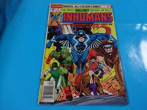 inhumans-8-issue-marvel-Comic-book-Bronze-1st-print