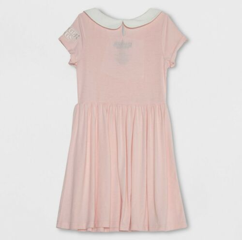 Stranger Things Eleven Pink Cosplay Dress Costume Girls Large NWT 10-12