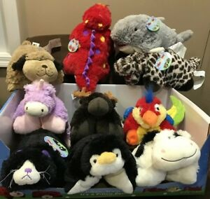 As Seen On Tv Pillow Pets 11 Quot Penguin Cow Dino Parrot