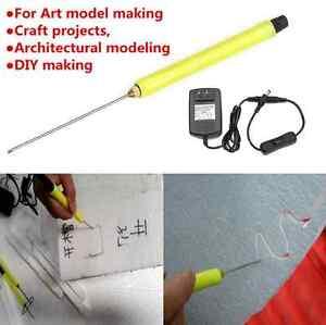 10CM Electric Styrofoam Cutter Hot Wire Styro Foam Cutting Pen w ...