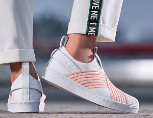 size 40 e6379 c6ae9 Details zu Adidas Superstar Slip D96704 Stan Smith damen weiß Slipper  Gazelle Sneaker 36-41