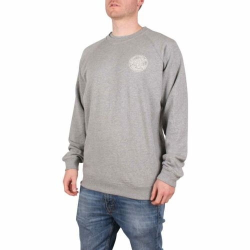 Dark Heather Santa Cruz Backhander Crew Sweater