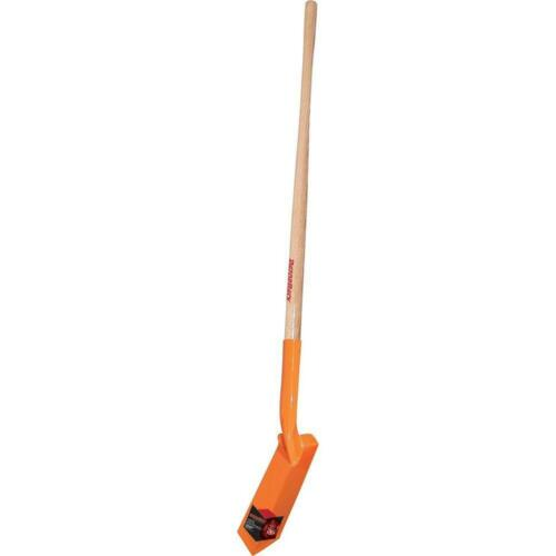 Details about  /48 in Wood Handle Trenching Shovel Heavy Gauge Strength Trench Clean Out 4 inch