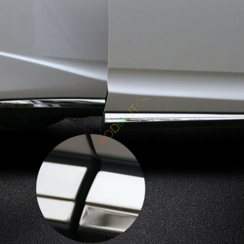 For 2016-2018 Lexus RX350 RX450h//200 Stainless Body Side Door Molding Cover Trim