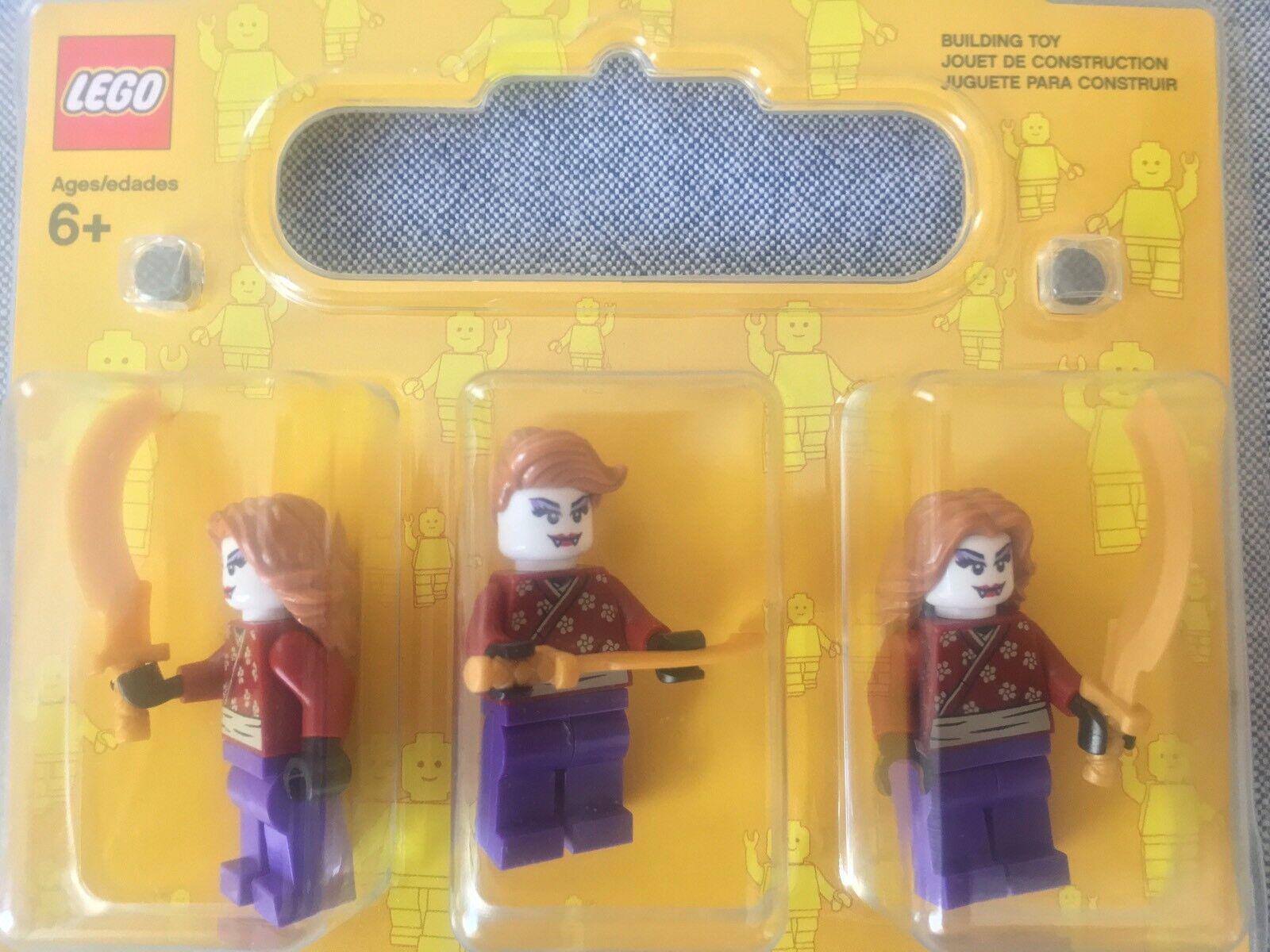 Lego Brand 2017 Samurai Vampiress Triplets Store Exclusive Hyper Drop VERY LMTD