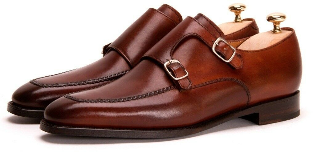 Uomo Oxford Cowhide Leder Fashion Stiefel Double Buckle  Fashion Leder Dress/Formal Schuhes 8b3d94