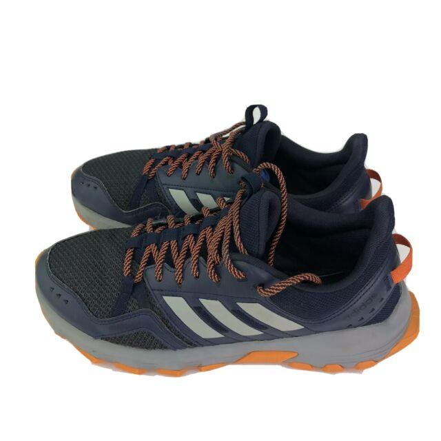 Adidas Rockadia Trail Mens Size 10 Blue Leather & Textile Athletic Hiking