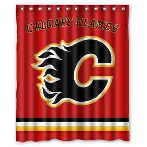 Image Is Loading Personalized Calgary Flames Hockey Waterproof 60 034 X