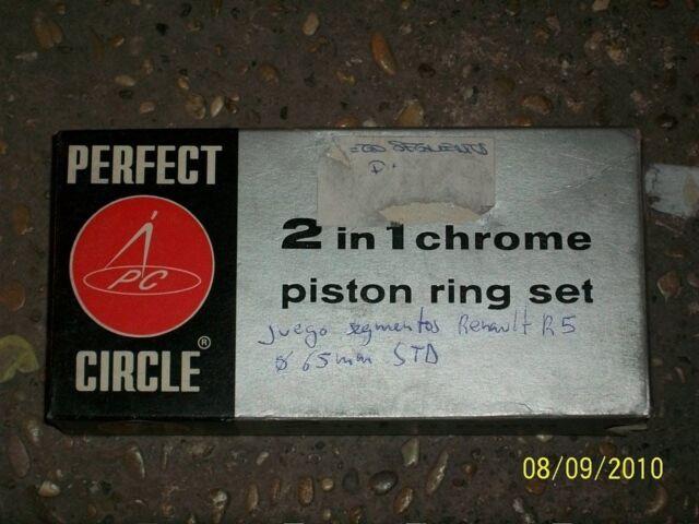 NOS KIT SEGMENTOS PERFECT CIRCLE DIAMETRO 65 MM STD RENAULT R5