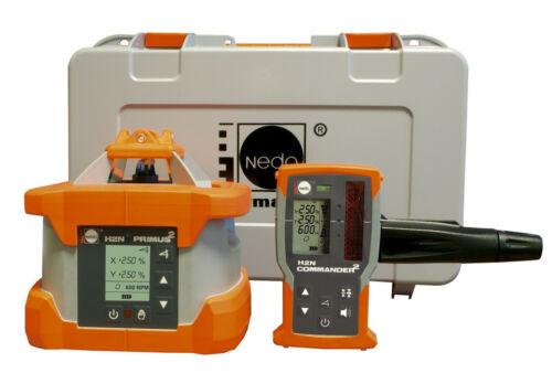 Nedo PRIMUS 2 H2N Zweiachs-Neigungslaser vollautomatisch Rotationslaser Laser