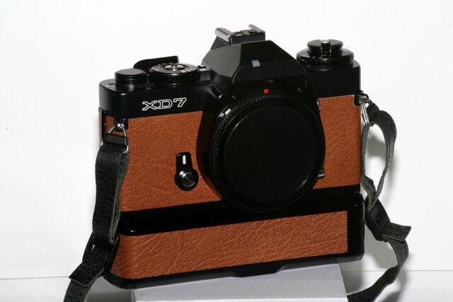 Minolta XD7 35mm Spiegelreflexkamera Gehäuse mit Winder