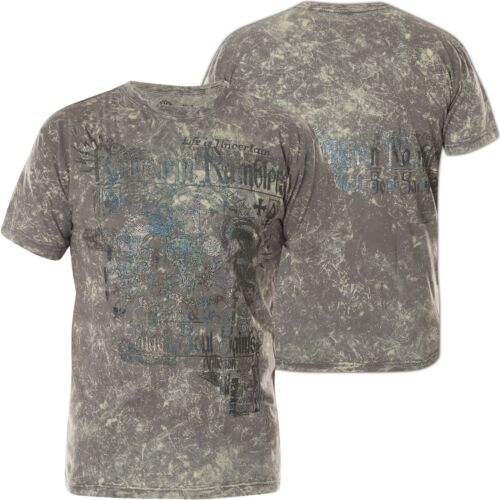 Affliction T-shirt Ramstein Ramblers Gris T-shirts