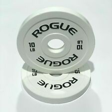 ROGUE FRACTIONAL rubber coated WEIGHT CHANGE PLATES SET 0.5lb BRAND NEW
