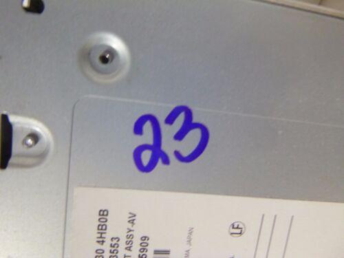 2014 2015 2016  14 15 16 Infiniti Q50 Radio Cd Mechanism 28330-4HB0B Bulk 23
