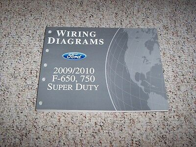 2010 Ford F750 Electrical Wiring Diagram Manual 6.7L 6.8L V8 V10 Triton  Diesel | eBay | Ford F750 Electrical Wiring Diagram |  | eBay