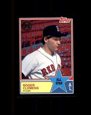Learned 2018 Topps Series 2 Rodger Clemens #83as-57 All Star Black #283/299 Red Sox Sports Trading Cards