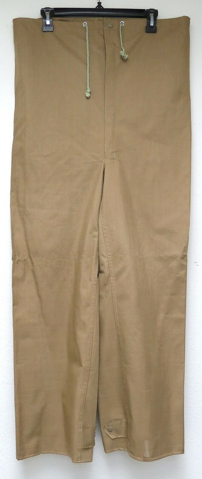 Vtg World Famous TAN RUBBERIZED WADERS MED Fishing  Pants 70s 80s japan made M  check out the cheapest
