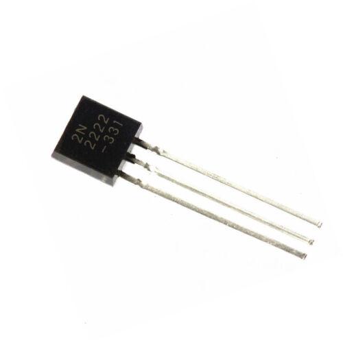 1000 PCS Transistor TO-92 MOT//ON 2N2222 2N2222A NEW
