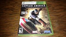 Captain America: Super Soldier (Microsoft Xbox 360, 2011)