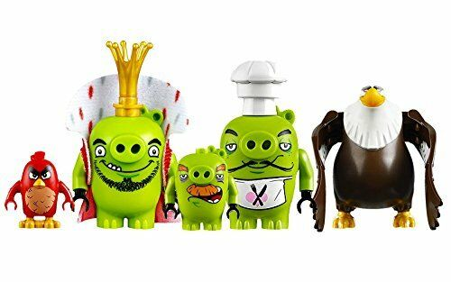 LEGO Angry Birds - King Pig's Castle Minifigs From 75826 - New - Mighty Eagle