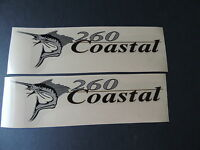Wellcraft Coastal 260 Fishing Boat Decal Set
