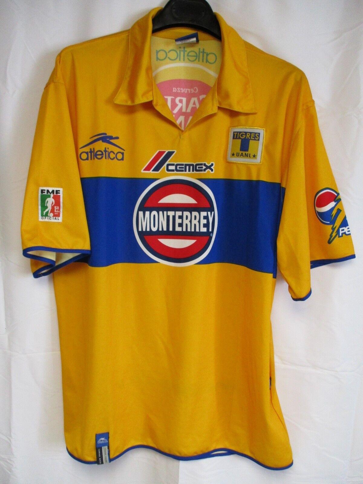 Maillot TIGRES MONTERREY UANL ATLETICA jersey shirt camiseta football maglia XL