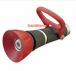 New nelson high pressure 50503 fireman 39 s nozzle sprayer for garden water hose ebay for High pressure garden hose nozzle