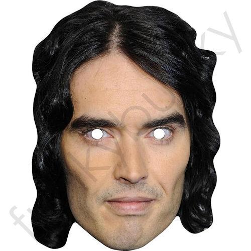 Russell brand célébrité carte masque-toutes nos masques sont pré-coupé!