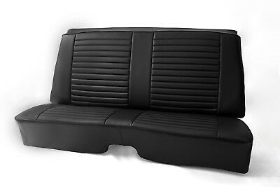 FORD CORTINA PREMIUM FABRIC SEAT COVERS WHITE PIPING 1+1
