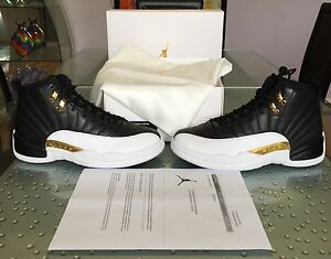 the best attitude 5a97a b0a2f Image is loading Nike-Air-Jordan-Retro-12-Wings-Size-8-