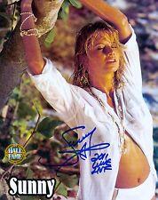 SUNNY WWF WWE SIGNED AUTOGRAPH HOF INSCR 8X10 PHOTO W/ PROOF
