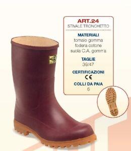 negozi popolari imbattuto x la vendita di scarpe Stivale in gomma Trento tronchetto articolo 24 / 21   eBay
