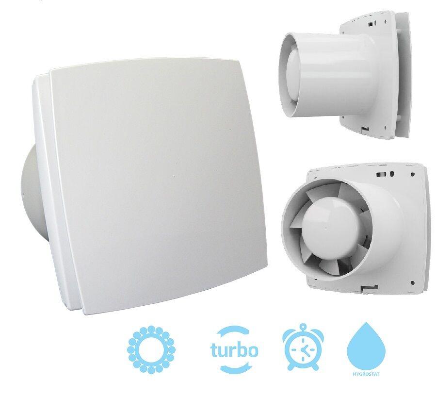 Haus- und Badlüfter BFmit Kugellager, Turbomotor, Timer, Hygrostat 150mm (41047)     | Sale Online Shop  | Adoptieren  | Angenehmes Aussehen