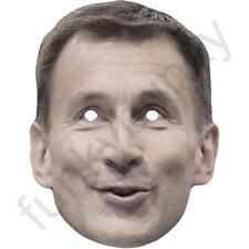 Jeremy Hunt uomo politico politico Biglietto Maschera Facciale. tutte le nostre Maschere sono pre-tagliati!