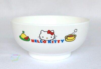 New White SANRIO HELLO KITTY KAWAII BENTO Plastic Small Japanese style Soup Cup
