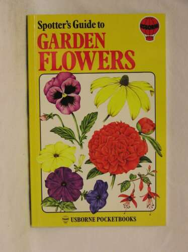 1 of 1 - Garden Flowers (Spotter's Guide), B. Ambrose, Excellent Book