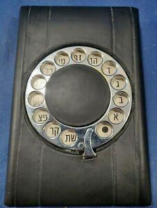 Vintage Hebrew Telephone List Finder Flip Up Number Address Book Index Hong Kong Ebay